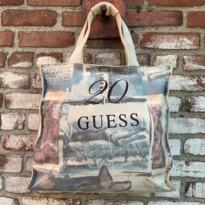 Vintage Guess 20 Year Anniversary Tote Bag
